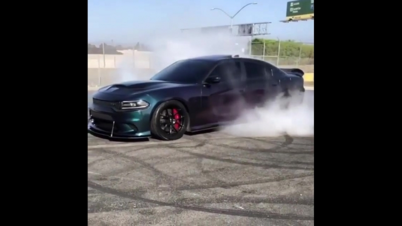 Srt Hellcat monster go Crazy color flip