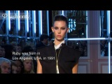 Ruby Aldridge: Top Model at Spring/Summer 2013 Fashion Week | FashionTV