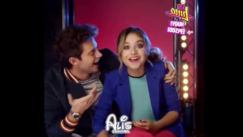 Soy Luna 3 Karol y Ruggero se abrazan como Novios gritan Locos Secreto Video Exc