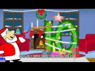 Развивающие мультфильмы и Дед Мороз на Новый Год - Ёлочка Буквой Ю Азбука для малышей