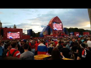 FIFA FANFEST 2018 MOSCOW VOROB'EVY GORY