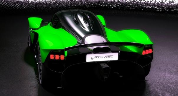 Гиперкар Aston Martin Valyrie будет иметь 1176 «лошадей»