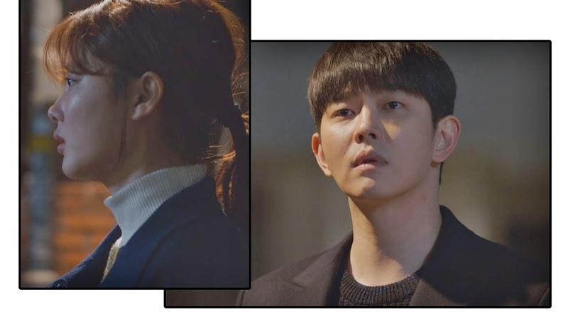 김유정(Kim You-jung) 걱정되는 마음에 먼발치서 바라보는 윤균상(Yun Kyun Sang) 일단 뜨겁게