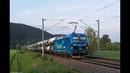 Güterverkehr auf der Frankenwaldbahn - Smartron, NoHab, BR 218 + Schiefe Ebene