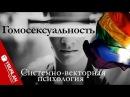 От американского гомосексуала до российского педофила. Нет секса без Системно-векторной психологии