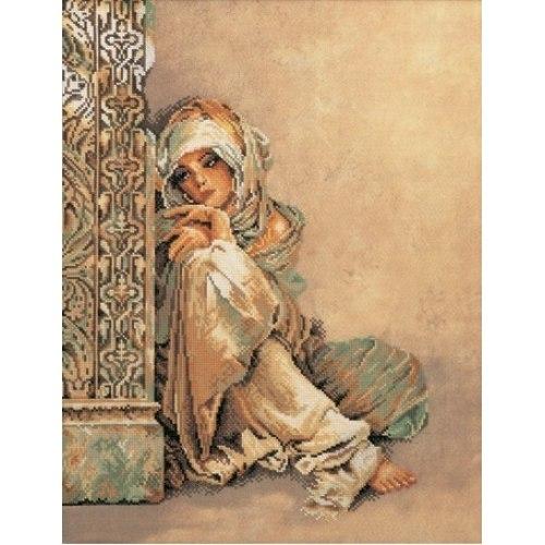 Арабская женщина 34x44см