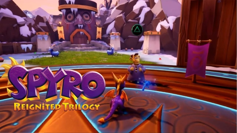 Spyro Reignited Trilogy - Colossus Level GAMEPLAY! RIPTO'S RAGE GAMEPLAY!