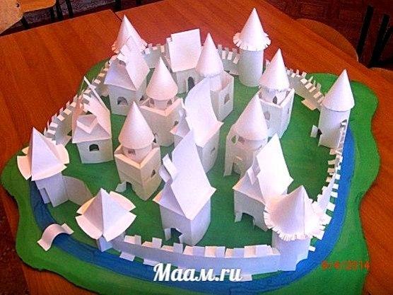 Домик из геометрических фигур своими руками - Parus-murman.ru