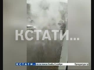 Нижегородский «Сайлент Хилл» - кипяток из труб теплоснабжения хлынул на улицы