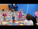Ритмика у ясельной группы. Детский сад с бассейном.