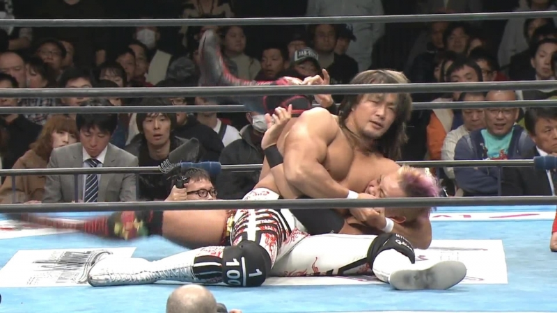 Hiroshi Tanahashi(с) vs. Kazuchika Okada Match for the IWGP Heavyweight Title (The New Beginning 2012)