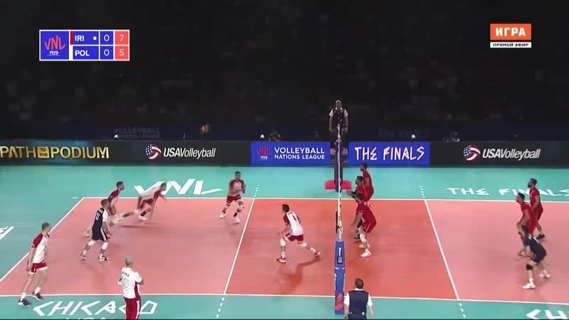 Иран - Польша / Лига наций / Финал шести / 11.07.2019 / 720p