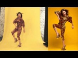 Cover poses CoCo Rocha by Katya Shaposhnikova