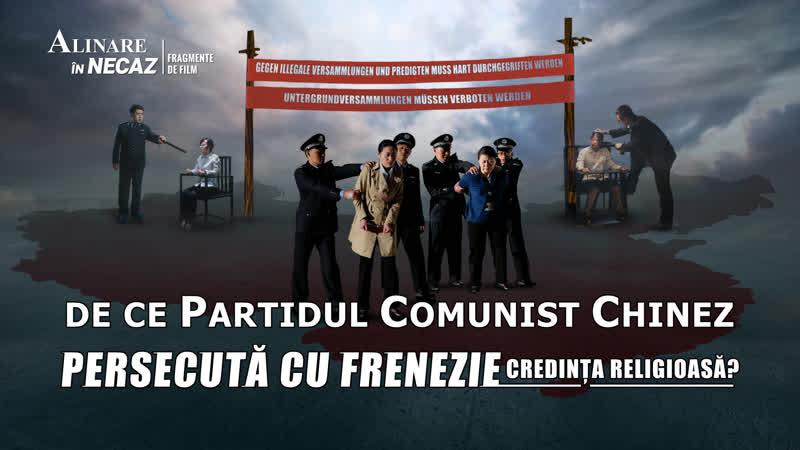 Segment de film creștin _ De ce Partidul Comunist Chinez persecută cu frenezie credința religioasă_