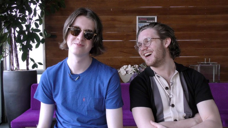 Blossoms interview - Tom and Joe (part 1)