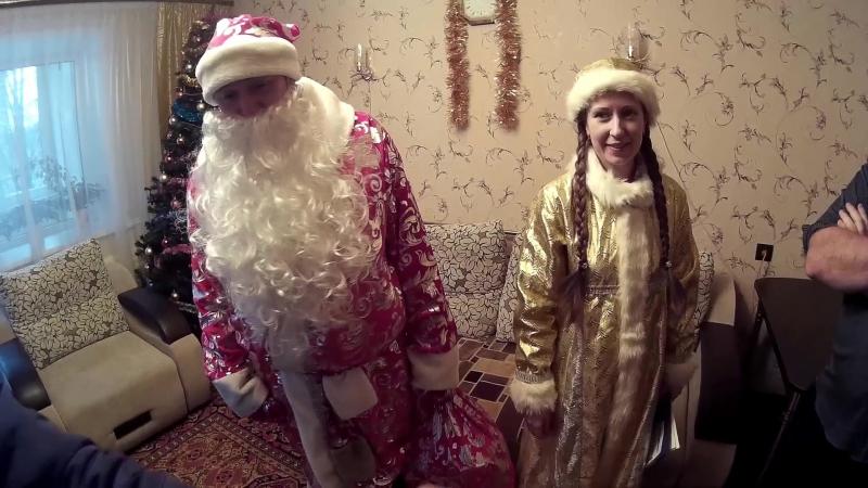 Дед Мороз и Снегурочка поздравляют абонентов АТЭЛ
