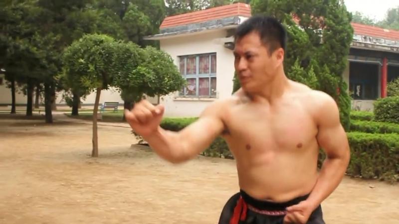 Кунг-фу. техника An Jian Qiu.