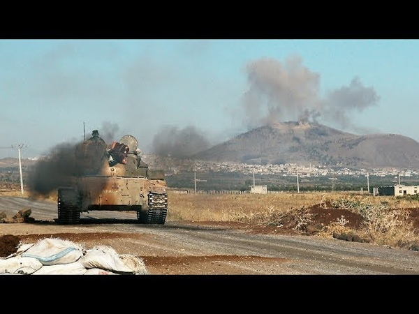 Syria Tiger Forces came close to Golan Heghts Силы Тигра в шаге от Голанских высот