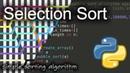 Selection Sort: Background Python Code