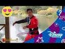 Los Descendientes 2 Hula Hoop Challenge con Thomas Doherty Disney Channel Oficial