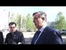 Выезд комиссии во двор дома № 26 по проспекту Морской
