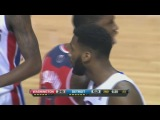 Block of the Night - Andre Drummond's Rejection at the Rim | October 22, 2013 | NBA Preseason 2013