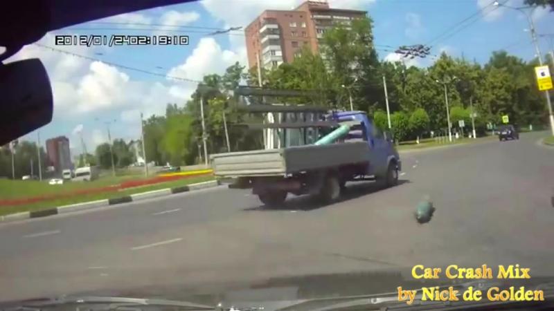 Аварии и ДТП нелепые аварии
