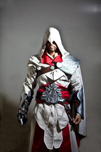 Cosplay De Ezio Auditore Gamers Assassins Creed