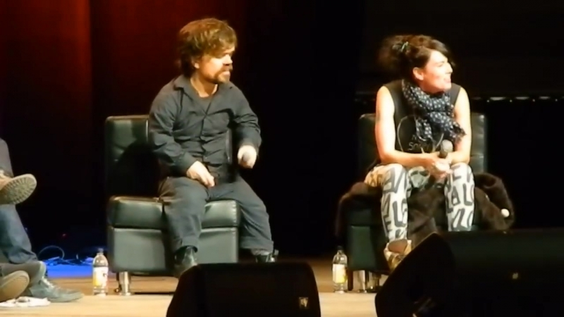 Peter Dinklage Lena Headey Panel at the Calgary Comic Con 2
