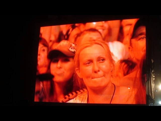 13 Rammstein Du Hast Рок над Волгой 2013
