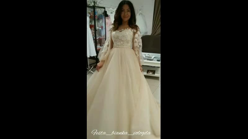 Свадебное платье Джина