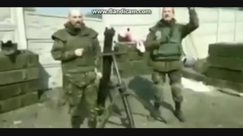Украинский миномёт Молот - найкращий миномёт в мире....mp4