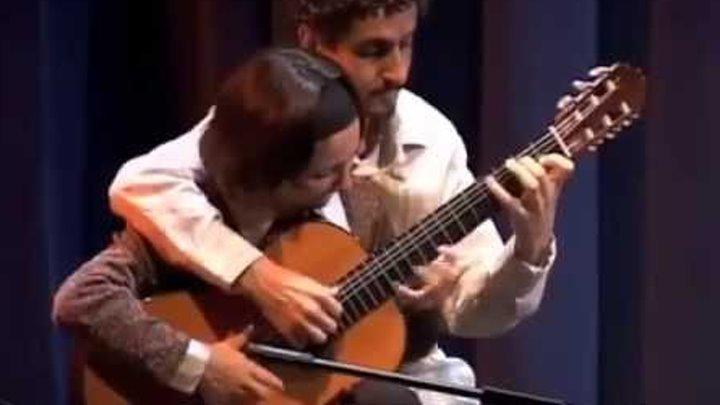 Муж и жена гитаристы виртуозы делают невероятное