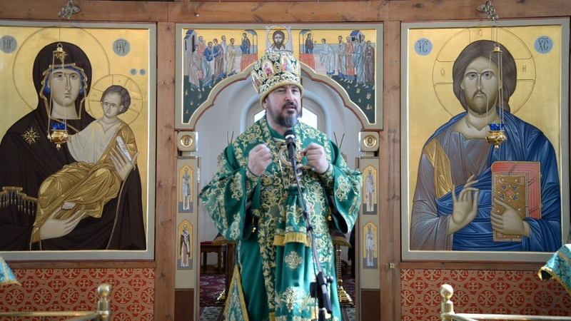 Слово митрополита Савватия в неделю 6-ю (цветоносная, Вербное воскресенье)