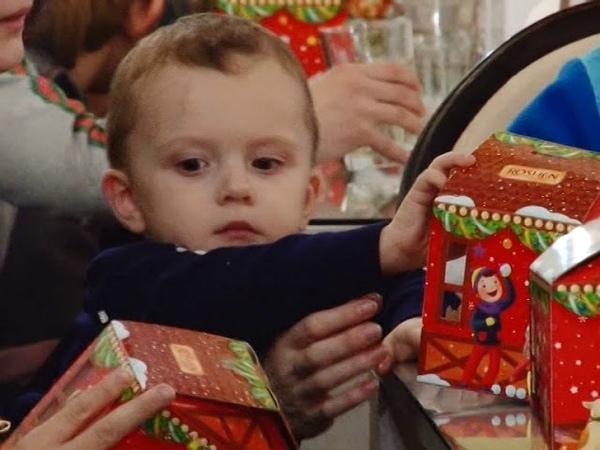 Як соціально незахищених дітей вітали з новорічними святами