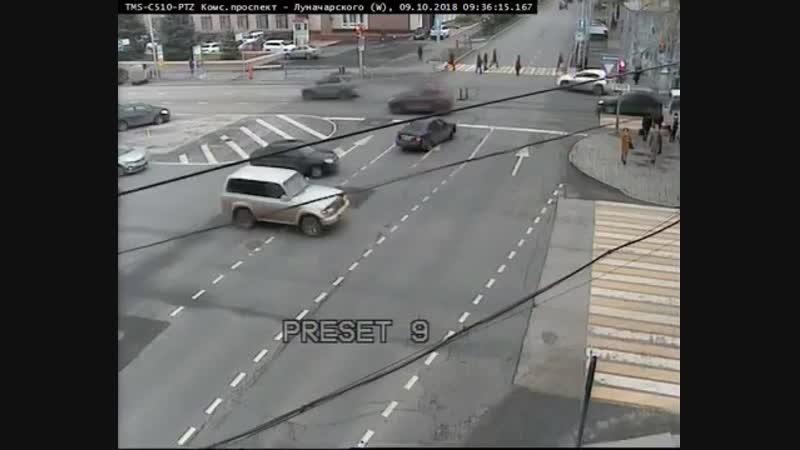 Шайтан такси ДТП Пермь Компрос Луначарского