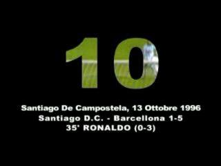 Десять лучших голов в истории футбола