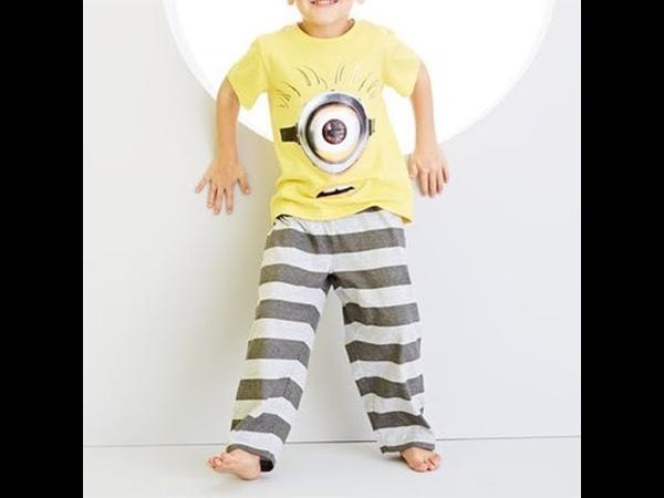 Детская пижама для мальчиков Миньоны. AVON.