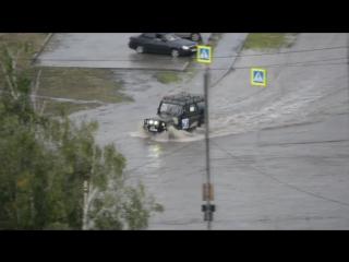 потоп в Челябинске, Парковый