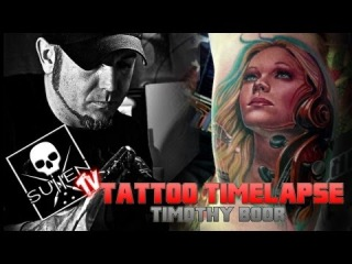Tattoo Timelapse - Timothy Boor