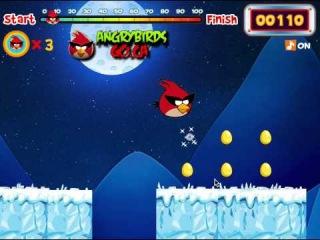 Игры Злые Птички Золотые Яйца (Angrybirds Golden Eggs)
