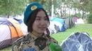 Слет военно-патриотических клубов проходит в Костанайской области