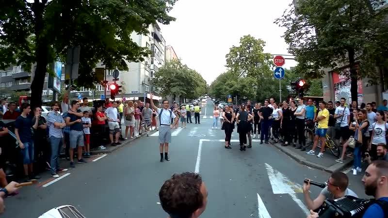 Koncert na ulici podrška članovima KUD Branko Cvetković