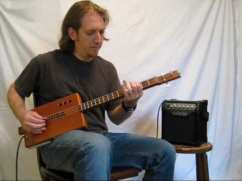 Mike Snowden Porch Song from the CD Summer in the Fields - Cigar Box Guitar Instrumentals