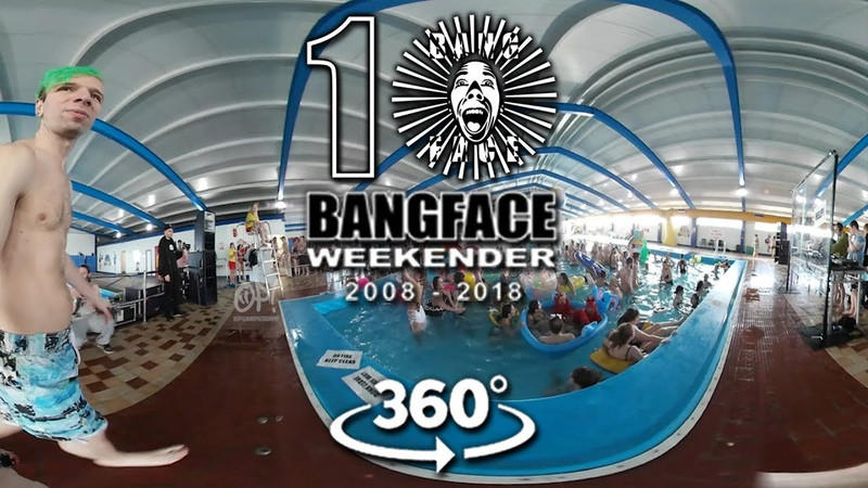 Bangface 10 in 360 Off Me Nut Pool Party Spinscott Napalm Death Bangface Hard Crew 2018