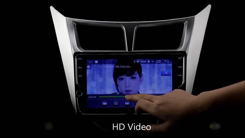 Hyundai Solaris DVD