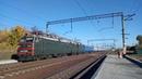 Электровоз ВЛ82М 038 Поезд №017К Харьков Ужгород на перегоне Люботин Люботин Західний