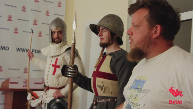 Мастер-класс о средневековье/розыгрыш   BeUp   Молодёжный клуб  