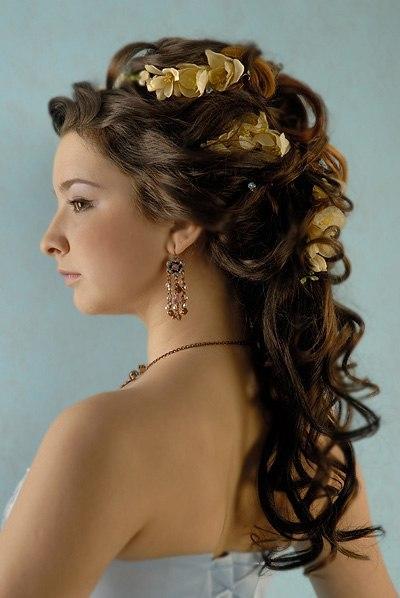 Причёска на свадьбу выпускной