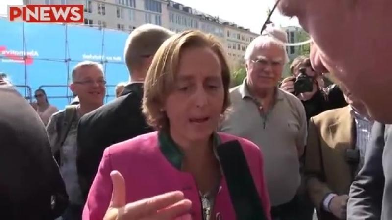 Michael Stürzenberger -PI-NEWS- interviewt Beatrix von Storch -AfD- in München